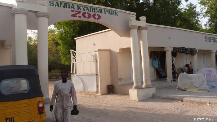 Borno - Eingang des Zoos von Maiduguri (DW/T. Mösch)
