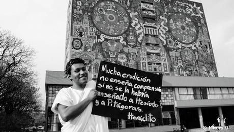Foto de nuestro usuario Momo G., estudiante de la UNAM, en México.