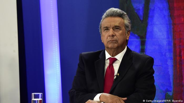Ecuador Präsidentschaftskandidaten Lenin Moreno (Getty Images/AFP/R. Buendia)