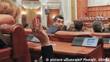 Rumänien Abstimmung im Parlament