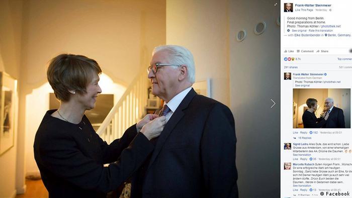 Франк-Вальтер Штайнмаєр з дружиною Ельке Бюденбендер