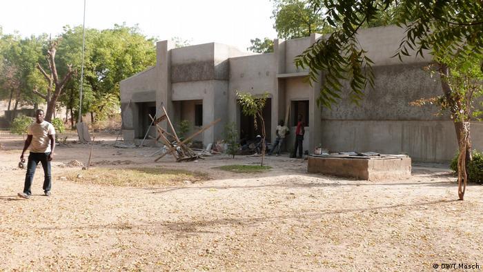 Baustelle im Zoo von Maiduguri (DW/T.Mösch)