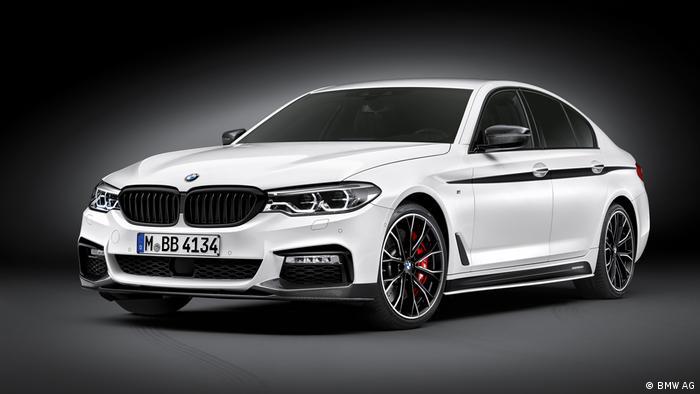 BMW 5er Limousine 2017 (BMW AG)