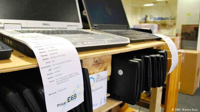 Computers repaired and sold at the Edinburgh Remakery