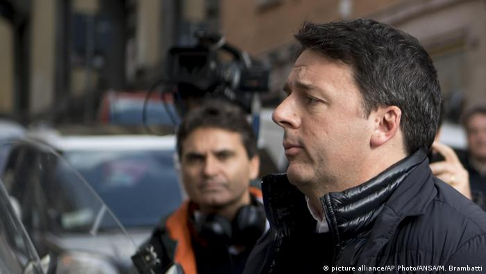 Italien Matteo Renzi (picture alliance/AP Photo/ANSA/M. Brambatti)