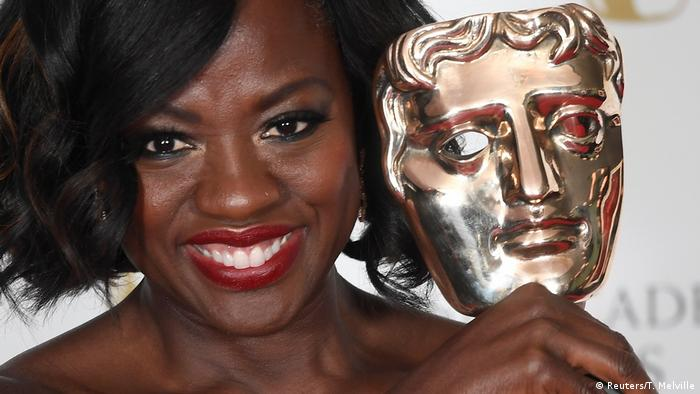 Großbritannien Viola Davis in London (Reuters/T. Melville)