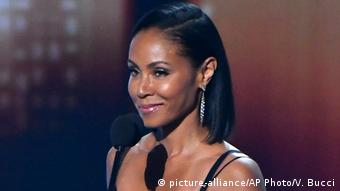 USA Jada Pinkett Smith in Los Angeles (picture-alliance/AP Photo/V. Bucci)