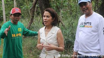 Philippinen Gina Lopez in Manila (Getty Images/AFP/J. Directo)