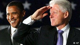 Obama and Bill Clintion