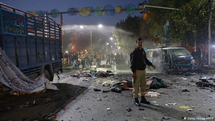 Pakistan Anschlag in Lahore (Getty Images/AFP)
