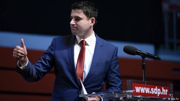 Kroatien Partei SDP Davor Bernardic (sdp.hr)