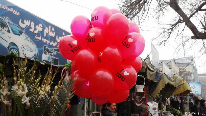 Afghanistan Valentinstag in Kabul (DW/H. Sirat)