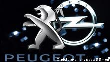 Peugeot und Opel