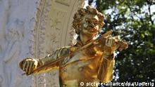 Österreich Denkmal für Johann Strauß in Wien
