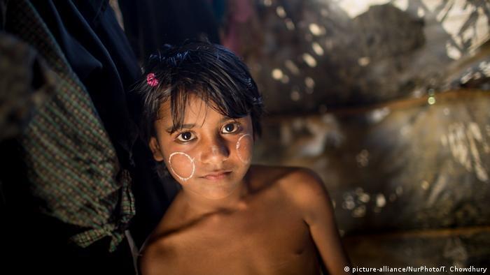 Bangladesch Rohingya Flüchtlinge in Kutupalong Flüchtlingslager (picture-alliance/NurPhoto/T. Chowdhury )