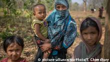 Bangladesch Rohingya Flüchtlinge in Kutupalong Flüchtlingslager