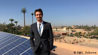 BG Greening Morocco's mosques   Jan-Christoph Kuntze, project manager at the GIZ in Morocco