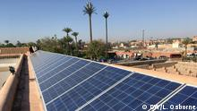 BG Greening Morocco's mosques | Solar panels on top of the Koutoubia Mosque in Marrakesh