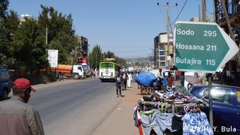 Äthiopien Sabata Wirtschaft Arbeitsmarkt