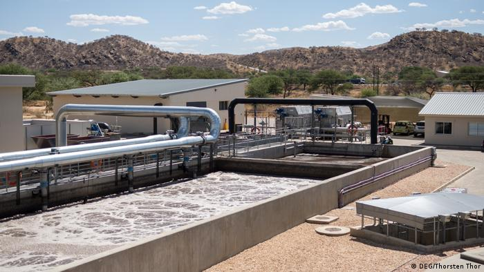A wastewater treatment plant in Windhoek (DEG/Thorsten Thor)