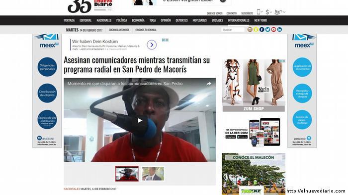 El video de los últimos instantes del locutor Luis Manuel Medina en la FM 103.5