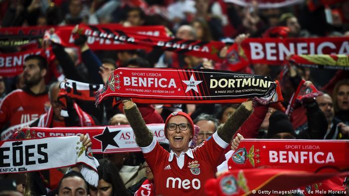 UEFA Champions League | Benfica Lissabon vs Borussia Dortmund (Getty Images/AFP/P. de Melo Moreira)