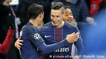 UEFA Champions League Paris SG Draxler (picture-alliance/AP Photo/M. Euler)