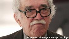 Schriftsteller Gabriel Garcia Marquez