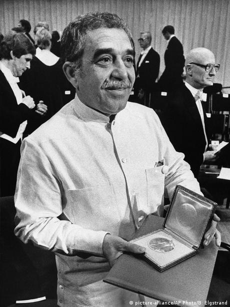 Gabriel Garcia Marquez (picture-alliance/AP Photo/B. Elgstrand)