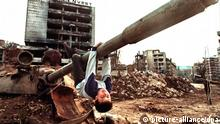 Bosnien Sarajewo Krieg
