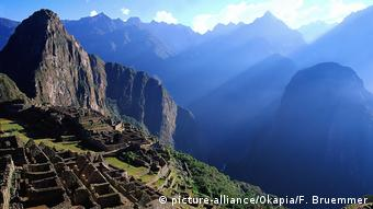 Las impresionantes ruinas de Machu Picchu, en Perú.