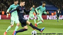 UEFA Champions League Paris SG vs Barcelona Draxler