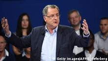 Frankreich Politiker Richard Ferrand von Macrons Bewegung En Marche