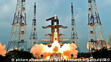Raketenstart in Indien (picture alliance/Indian Space Research Organisati/ISRO)