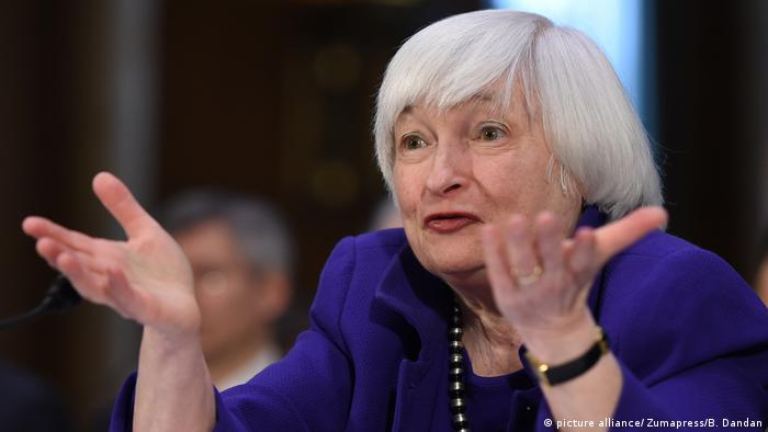 Janet Yellen (picture alliance/ Zumapress/B. Dandan)