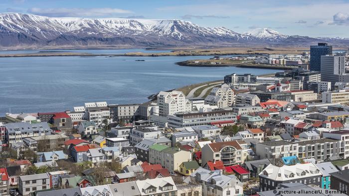 Una fotgrafía de Reikiavik