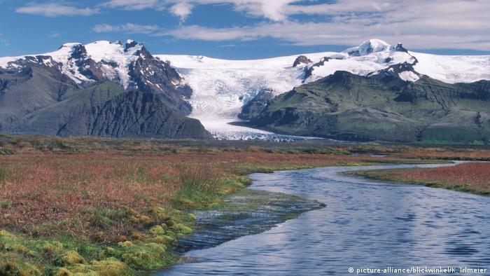 Island Vatnajoekull (picture-alliance/blickwinkel/K. Irlmeier)
