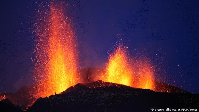 Island Vulkan Eyjafjallajökull (picture-alliance/bt3/ZUMApress)