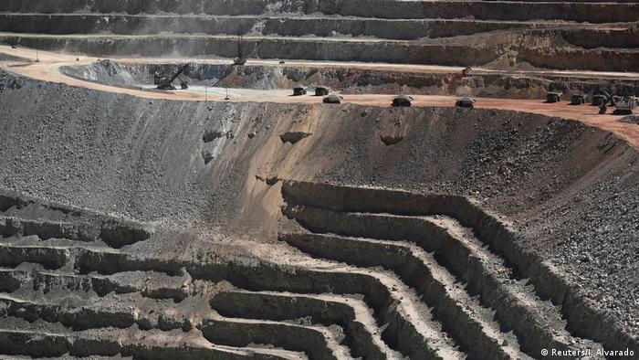 A general view of Escondida, the world's biggest copper mine, northern Chile, in Antofagasta
