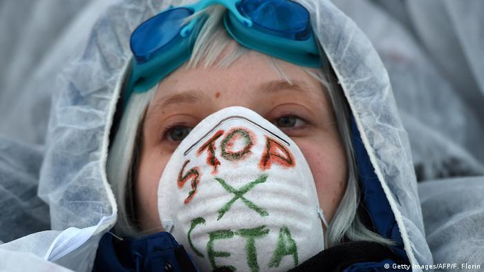 Anti-CETA demo