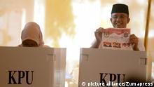 Indonesien Wahlen Jakarta