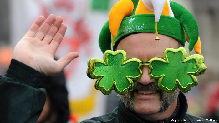 Irland St. Patrick's Day Parade (picture alliance/dpa/T. Hase)