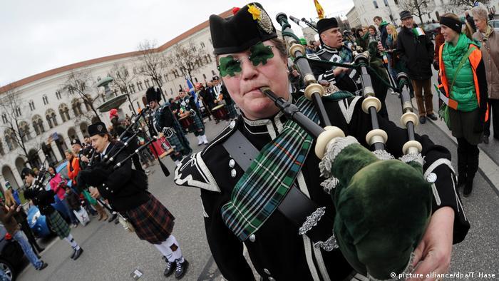 Deutschland St. Patrick's Day Parade in München