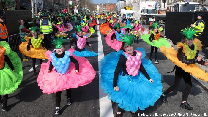 Irland St Patricks Day Parade (picture alliance/depa/AP Photo/S. Pogatchnik)