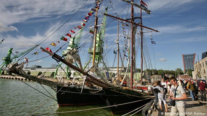 Litauen Hafen von Klaipeda (Getty Images/AFP/P. Malukas)