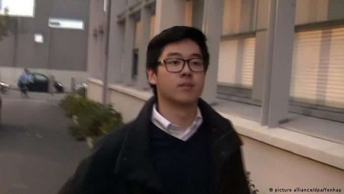 Frankreich Neffe der nordkoreanischen Präsidentin Kim Jong-un (picture alliance/dpa/Yonhap)
