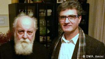 Sayeh iranischer Dichter (DW/A. Amini)