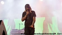 USA Lil Wayne auf dem The Budweiser Made In America Festival