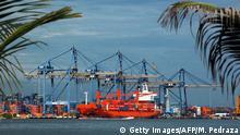 Kolumbien Hafen von Cartagena