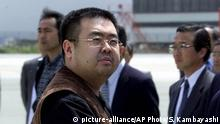 Malaysia Nordkorea Mord an Kim Jong Nam (picture-alliance/AP Photo/S. Kambayashi)